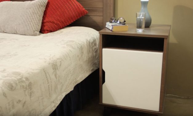 How to assemble the Walnut Bedroom Pedestal
