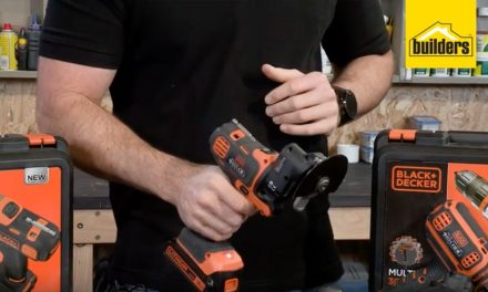 Product Review: Black and Decker MultiEvo Oscillating Angle Attachment