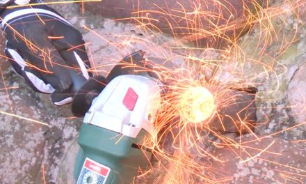 Product Review: Bosch Angle Grinder 700W