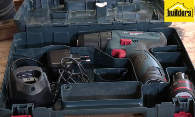 Product Review: Bosch GSR 120-LI professional cordless drill/driver