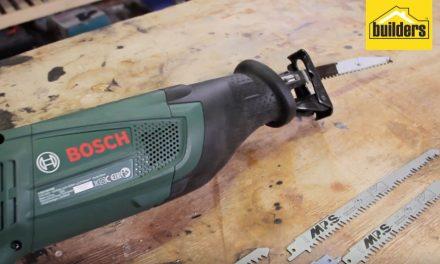 Product Review: Bosch Sabre Saw PSA900E