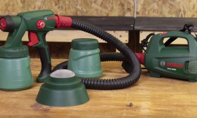 Product Review: Bosch Spray Guns