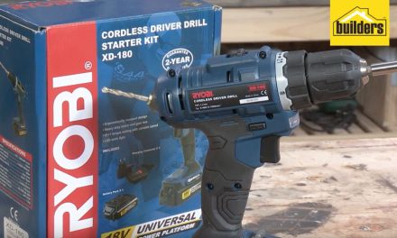 Product Review: Ryobi XD-180 Cordless Drill Driver with charger and battery