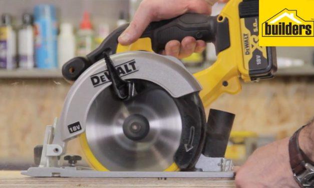 Product Review: DeWalt 18v XR Cordless Hand-held Circular Saw