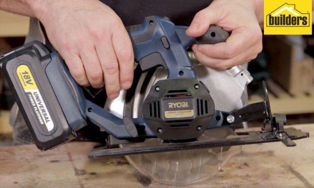 Product Review: Ryobi XCS 165 Cordless Handheld Circular Saw