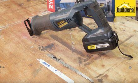 Product Review: Ryobi XRS 180 Cordless Reciprocating Saw