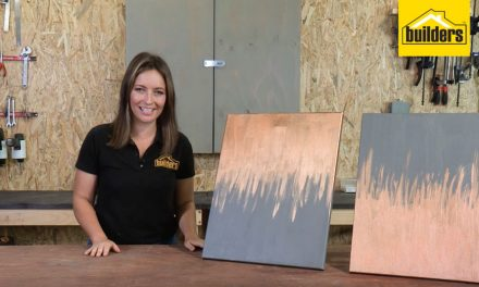 How to make an abstract art canvas with Elle