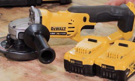 Product Review: Dewalt 18V cordless angle grinder