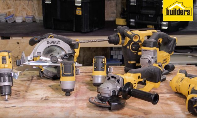 Product Review: Dewalt 18V cordless hammer drill