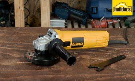 Product Review: Dewalt DWE4010 Angle Grinder