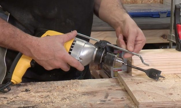 How to use the Stanley tools Percussion Drill