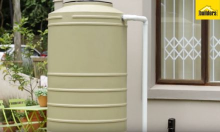 How to easily install a water tank