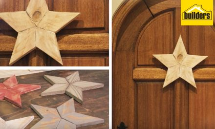 How to make a wooden Christmas star