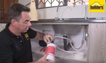 How to install a water filter under the sink