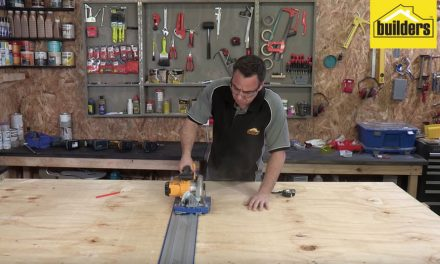 How to use the Kreg Accu-Cut guide rail system