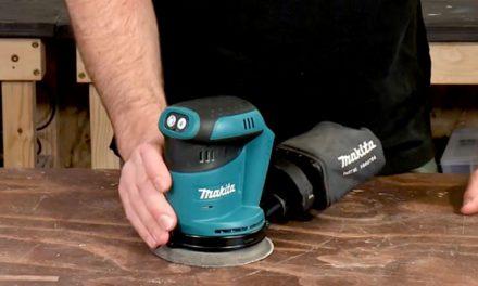 Product Review: Makita BBO 1802 Cordless Sander