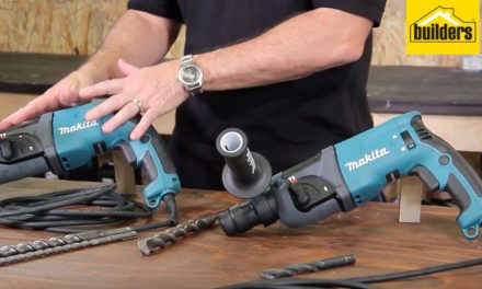Product Review: Makita Hr2460 and Makita Hr2470 Rotary Hammer Drills
