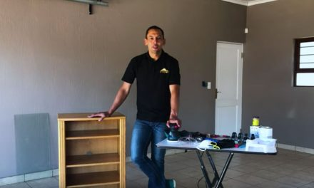 How to revamp a TV cabinet
