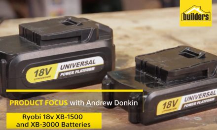 Product Review: Ryobi 18v Battery Pack One Plus
