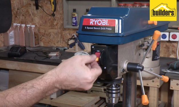 Product Review: Ryobi 5 speed table top drill press