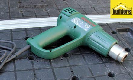 How to use the Bosch PHG 500-2 heat gun