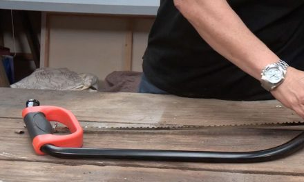 Product Review: Garden Master bow saw