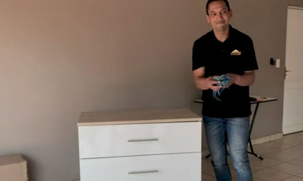 How to assemble a chest of drawers at home