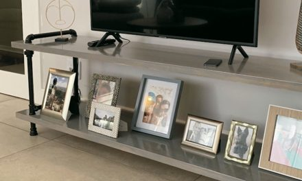 How To Make a TV Stand Using Galvanised Pipe