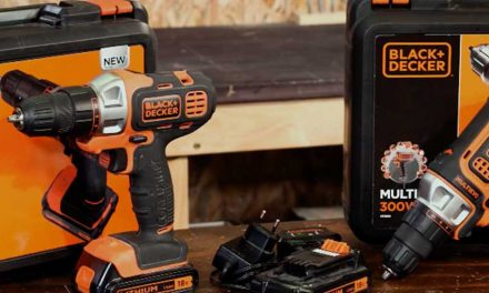 Product Review: Black and Decker multievo corded and cordless drills
