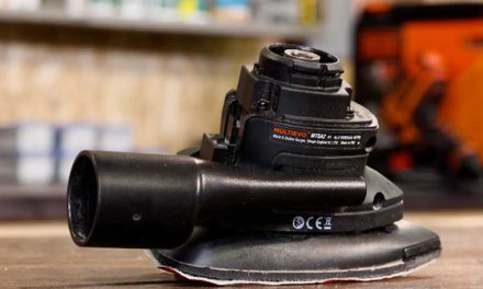 Product Review: Black and Decker multitool sander head attachment