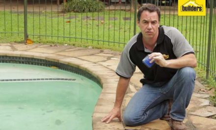 How to change the pool filter sand