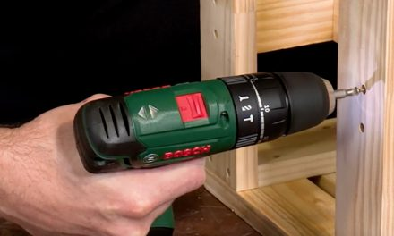 Product Review: Bosch 1800 Cordless Combination Drill