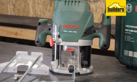 Product Review: Bosch POF 1400 Router