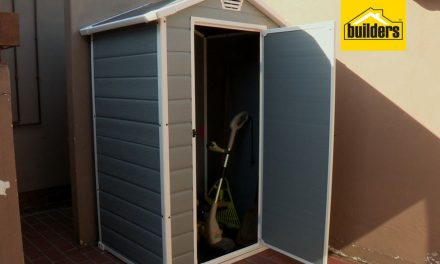 How to assemble a Keter manor shed