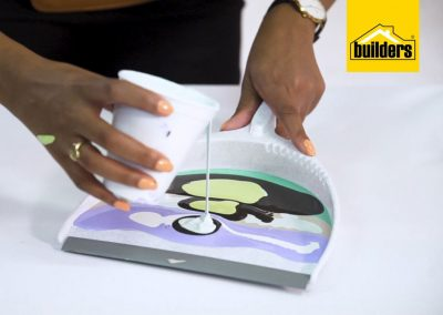 How to create quick pour canvas art