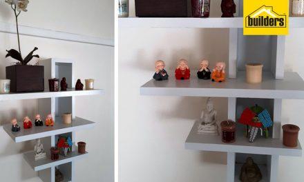 How to make a 3 tier shelf
