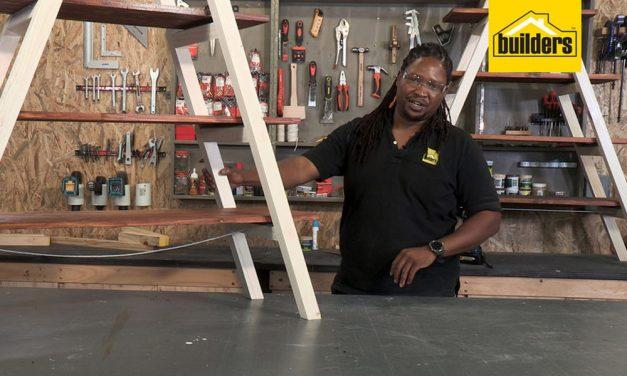How to Make an A-Frame Shelf