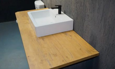 How to replace a bathroom counter top