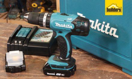 Product Review: Makita Cordless Hammer Driver Drill Kit
