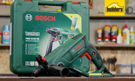 Product Review: Bosch PBH 2100 RE Rotary Hammer Drill