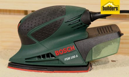 Product Review: Bosch PSM 100 Mouse Sander