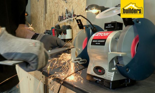 Product Review: Ryobi 200mm Bench Grinder