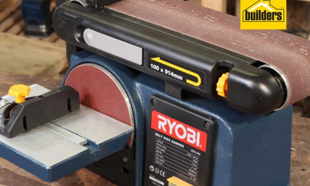 Product Review: Ryobi BDS 460 Belt and Disk Sander