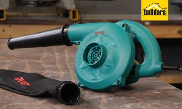 Product Review: Ryobi BL 3500 Blower