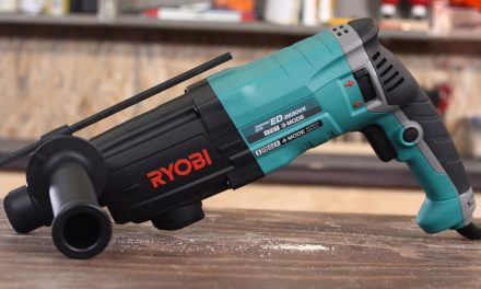 Product Review: Ryobi ED2630VR Industrial Rotary Drill