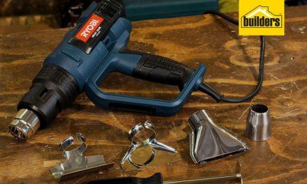 Product Review: Ryobi HG 2530 Heat Gun