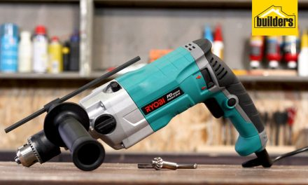 Product Review: Ryobi PD22VR Industrial Impact Drill