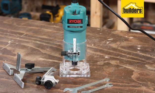 Product Review: Ryobi TR 50A Industrial Laminate Trimmer