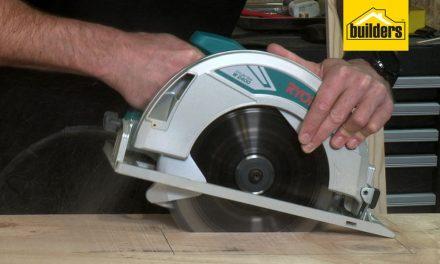 Product Review: Ryobi W2400 Industrial Circular Saw
