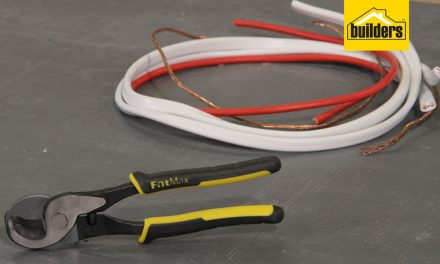 Product Review: Stanley Fatmax Cable Cutter